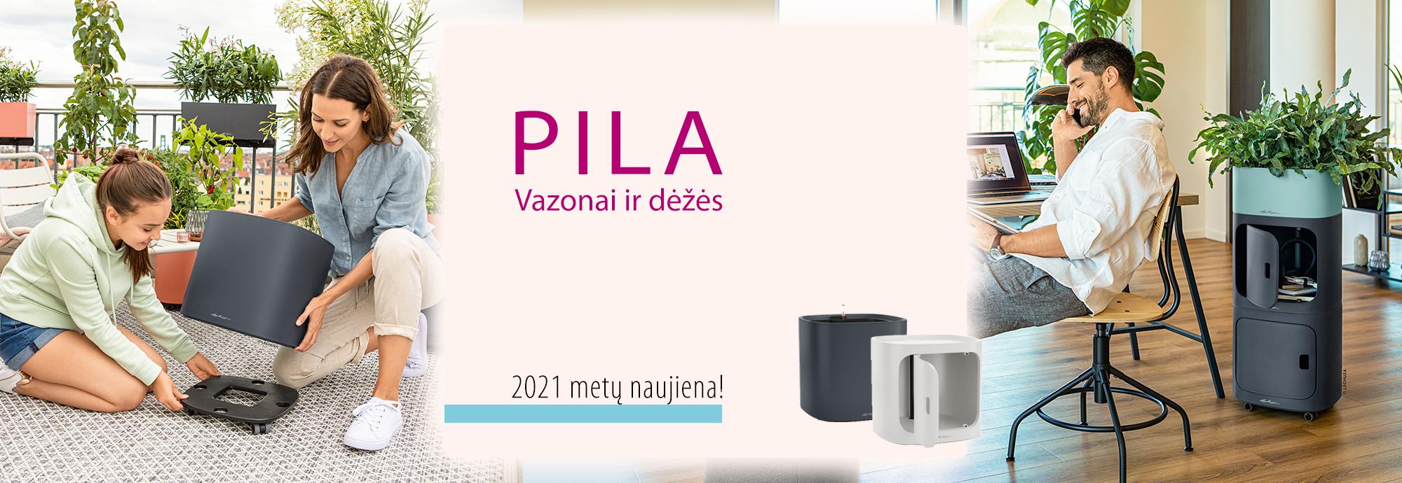 Pila Vazonai ir dėžės 2021 metų naujiena