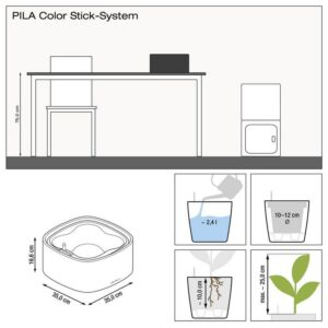 Pila Color Low
